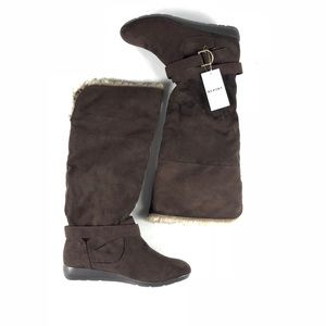 """Report Women's Brown """"Syreeta"""" Tall Boots"""